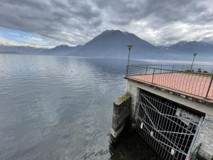 Lake Como Argegno Villa Water Front with Boathouse - dock